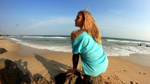 Evokaii KiteSurf Milena Krawetz Mui Ne Surf Tshirt