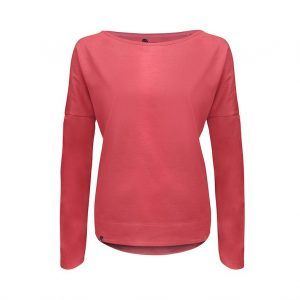 Evokaii Women Surf Style KiteGirl Tshirt Red Front