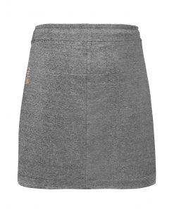 Evokaii Women Surf Style Skirt Gwinea Dark Grey Back