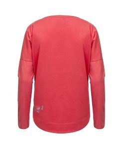 Evokaii Women Surf Style KiteGirl Tshirt Red Back