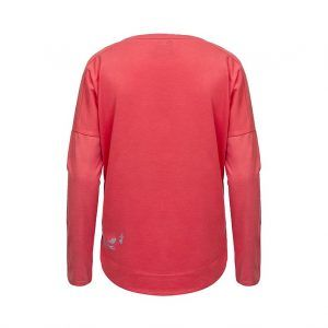 Evokaii Women Surf Style KiteGirl Tshirt Red Back