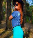 Evokaii Long Skirt Goree Blue Side