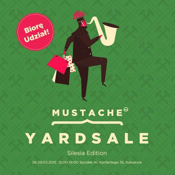 Evokaii Mustache Yard Sale Katowice