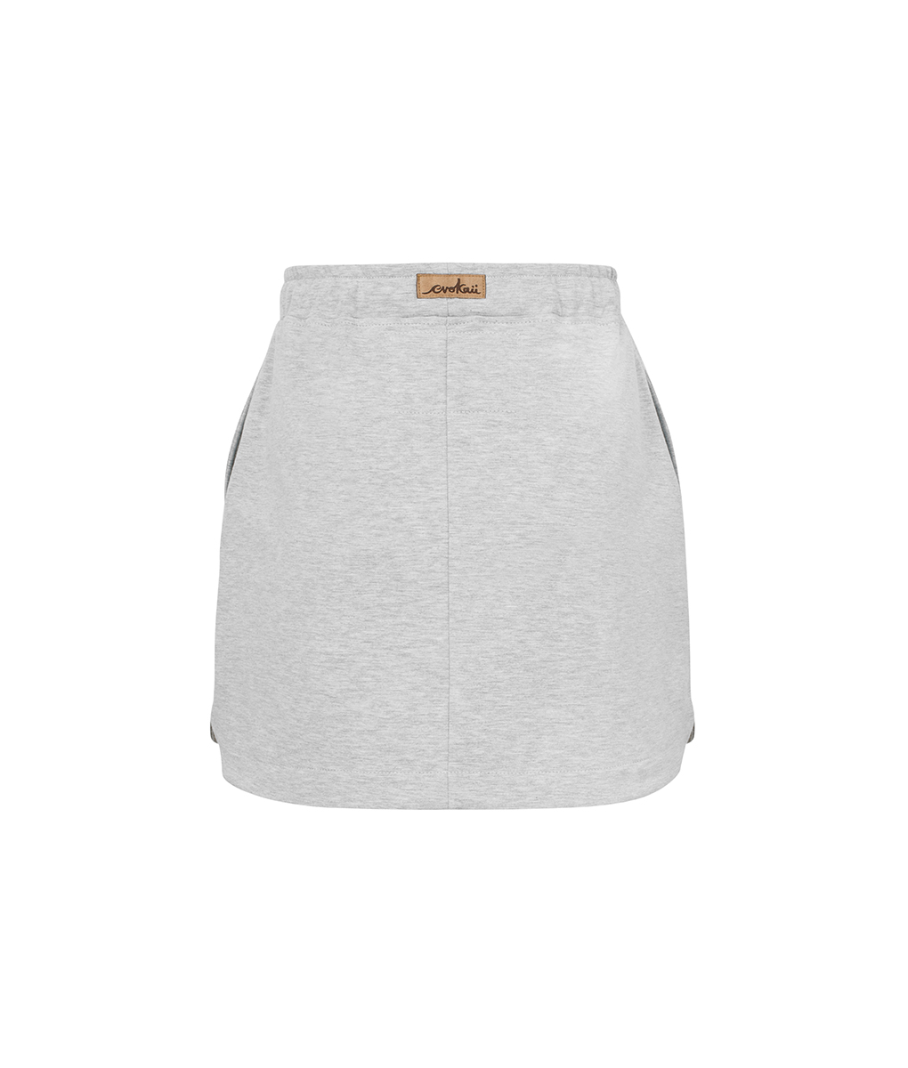 Evokaii Women Surf Skirt Keg Grey Back