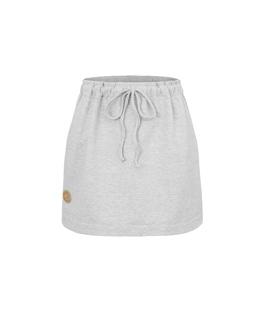Evokaii Women Surf Skirt Keg Grey Front
