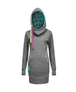 Evokaii Women Surf Style Freestyle Grey-Blue Front