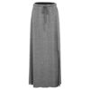 Evokaii Women Surf Style Skirt Goree Dark Grey Front