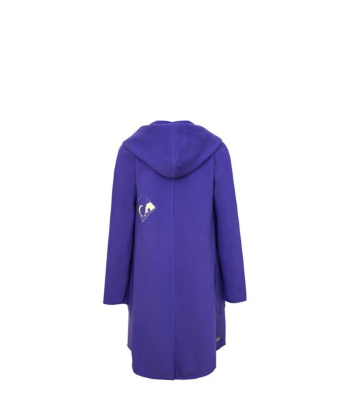 Evokaii Women Surf Style Summer Hood Purple Back