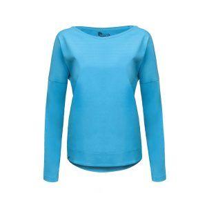 Evokaii Women Surf Style KiteGirl Tshirt Blue Front