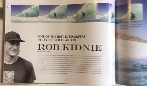 Freedom Kitesurf Magazine Evokaii Rob Kidnie