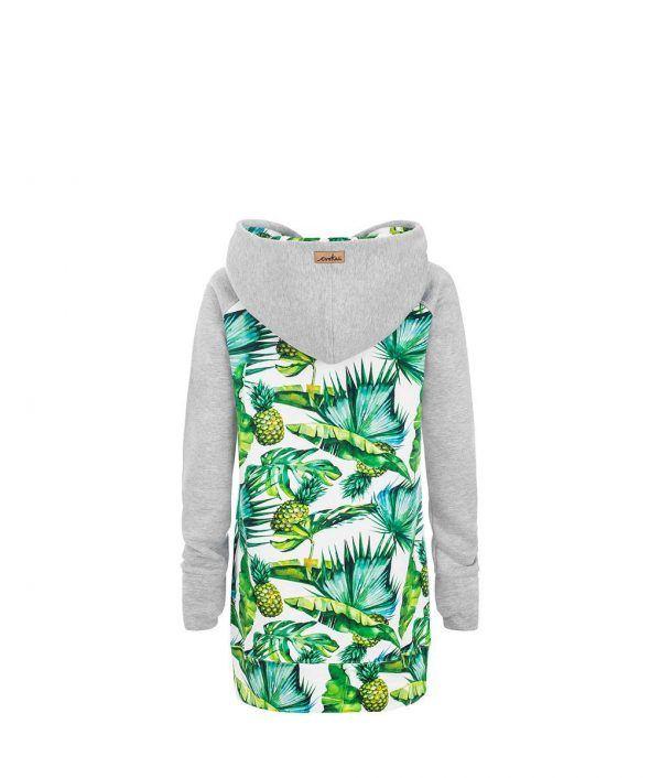 Tropikalna bluza w ananasy - tył