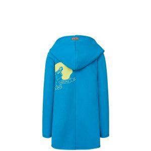 Evokaii Girls Surf Coat Aloha Short Coat Blue Back