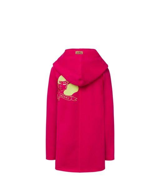 Evokaii Girls Surf Coat Aloha Short Coat Pink Back