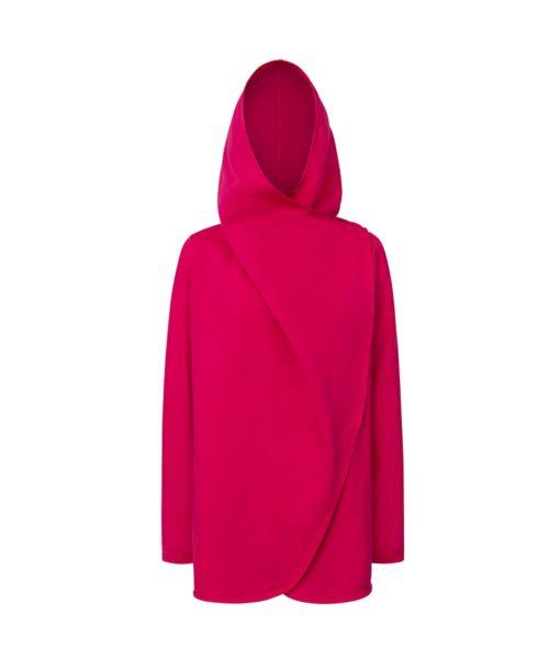 Evokaii Girls Surf Coat Aloha Short Coat Pink Front Closed