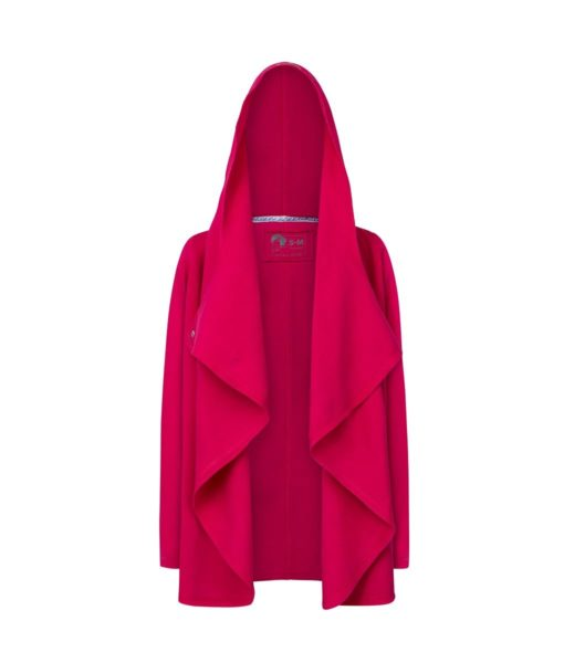 Evokaii Girls Surf Coat Aloha Short Coat Pink Front Open