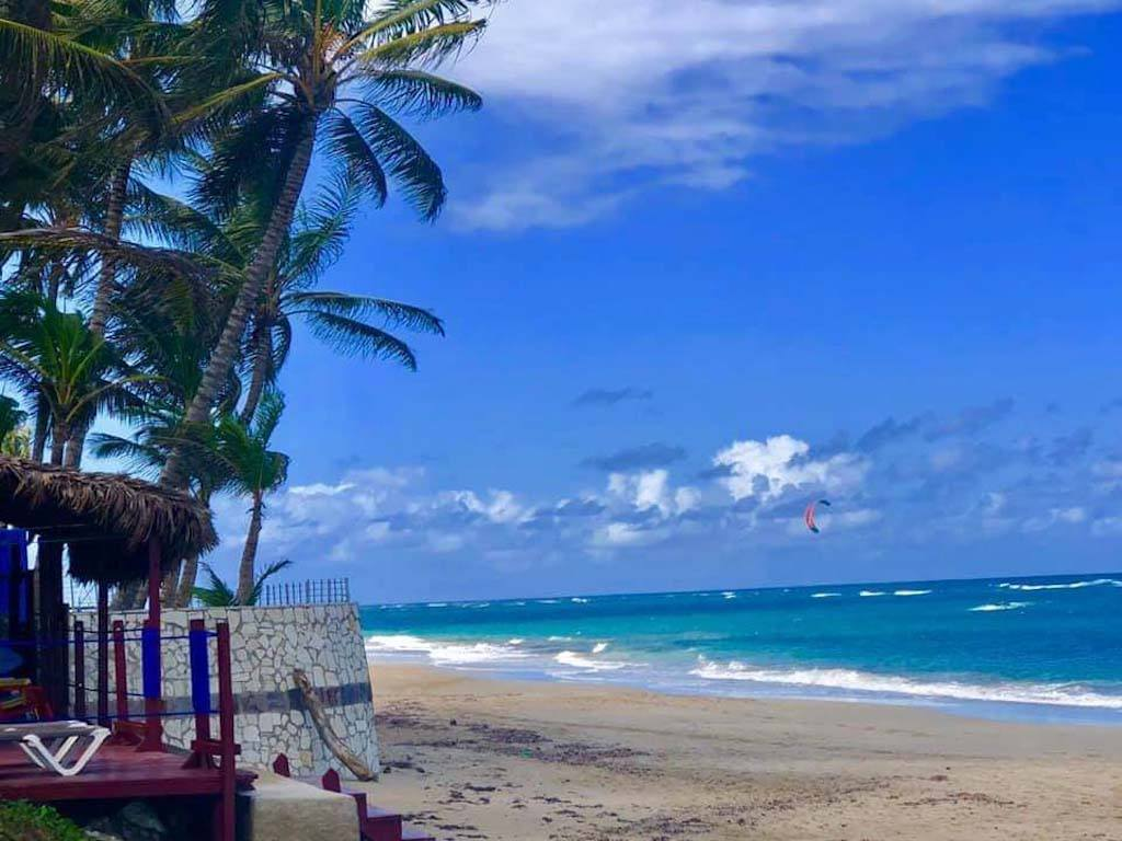 Kitesurf Beach In Dominican Republic