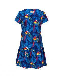Sukienka w papugi - tył
