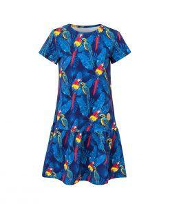 Sukienka w papugi - przód