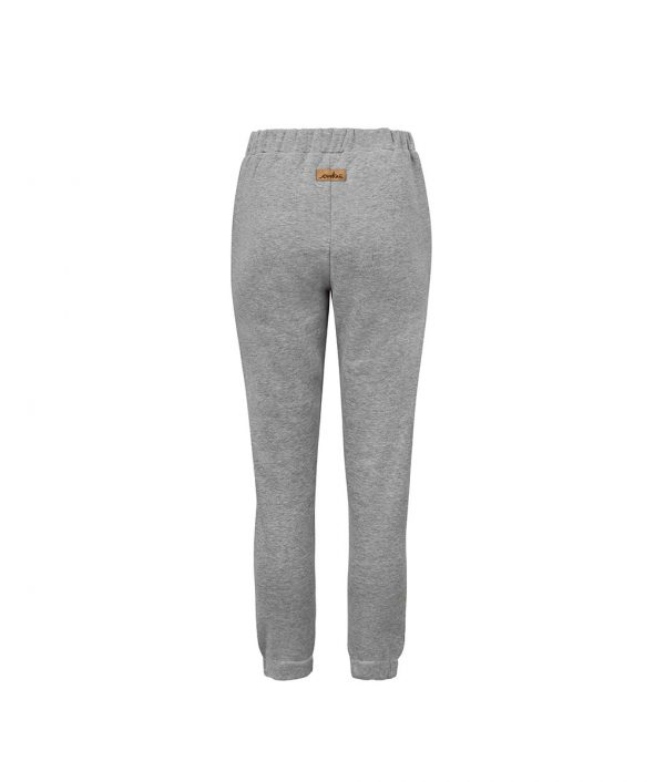 Comfortable Grey Sweatpants Back With Toucan Print Inside